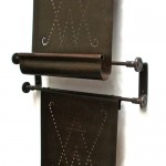 Bronze Magazine Rack