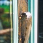 Copper Door Pull