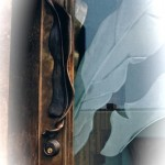 Forged Bronze Door Pull