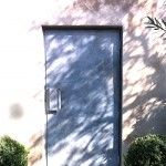 Patinated Steel Door
