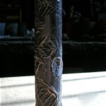 Reticulated Bronze Leg