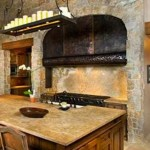 Farmhouse Style Copper Range Hood