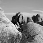 ..a line of solid rocks...