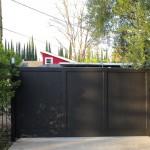 Steel Panelled Gate
